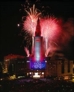 public square fireworks - photo credit roger mastroianni